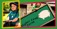 holidays with your toddlers and babies at higher lank working farm in cornwall