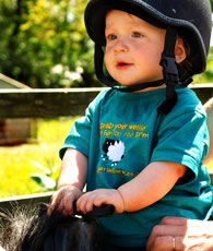 pony rides at higher lank farm holidays, bodmin