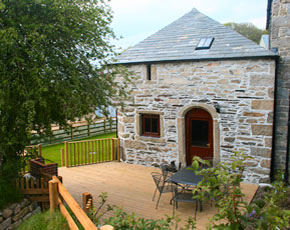 Humpty Dumpty cottage self catering accommodation at Higher Lank Farm, near Bodmin