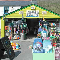 Trebarwith Strand, nearest beach to higher lank farm, bodmin