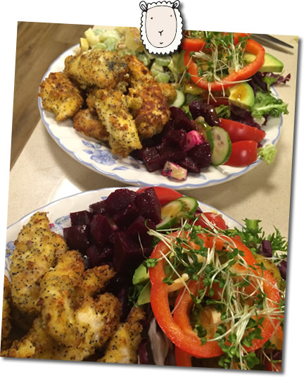 allergy free, locally sourced, food at higher lank farm